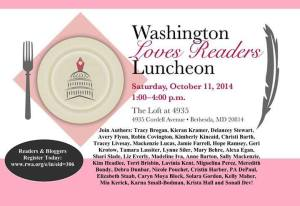 washington loves readers luncheon