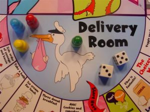 delivery room game board